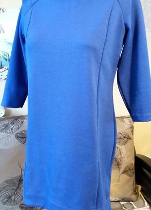 Туника платье королевского синего цвета