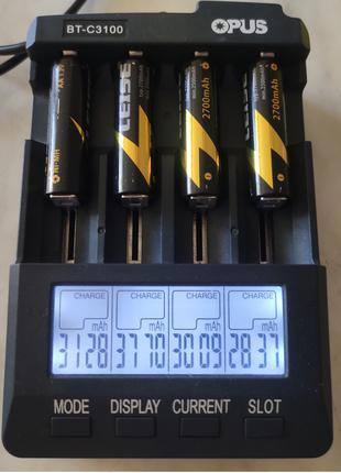 Аккумуляторные батарейки AA Leise 2700mAh 1.2V Ni-MH