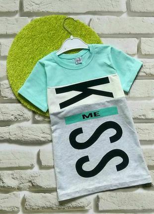 Удлинённые футболки для девочек 4-7 лет