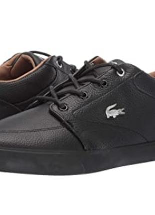 Кожаные кроссовки , кеды lacoste, оригинал