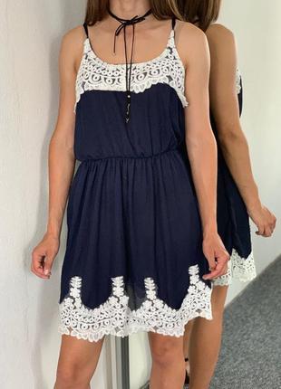 Летнее платье 38 40