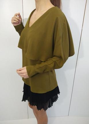 Красивая блуза хаки river island 34-36