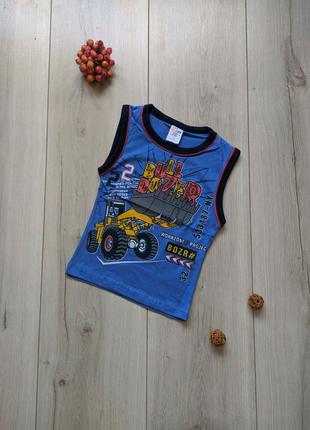 Майки футболки катоновые детские для мальчика 1, 2, 3, 4 года