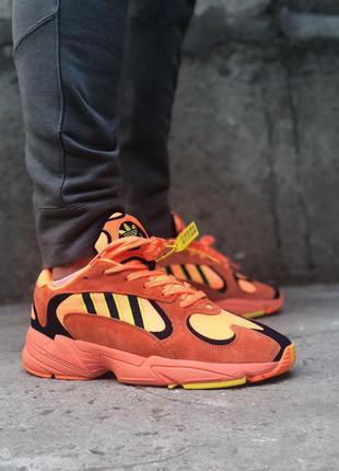 🔥 adidas yung 1 hi res orange