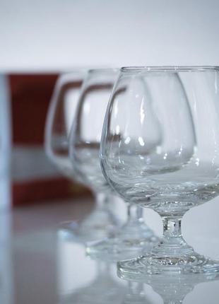 Бокалы набор бокалов коньяк виски бренди