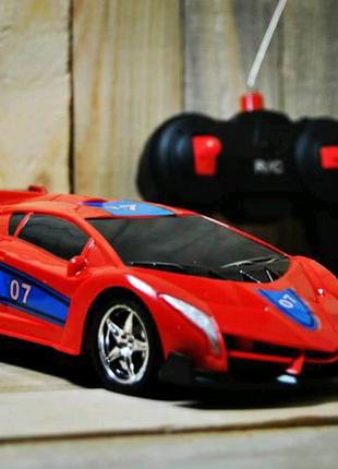 Машинка на радиоуправлении noble racing, подарок