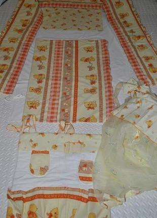 Постельный комплект piccolino постель для новорожденного и до ...