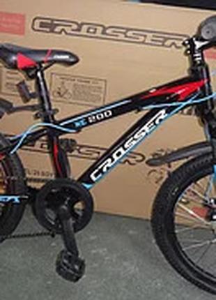Спортивный горный велосипед Crosser Boy XC-200 20 дюймов