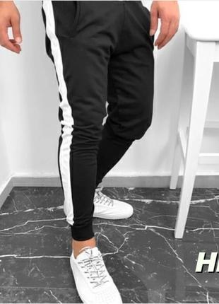 Мужские спортивные штаны с лампасом