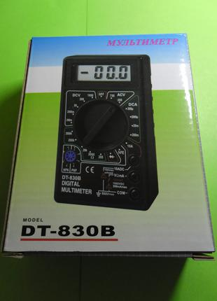 Мультиметр цифровой DT830B (новый)