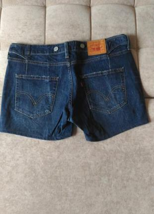 Женские джинсовые шорты levis размер l