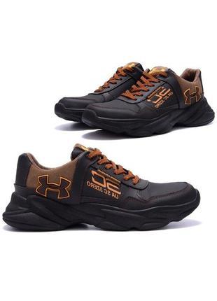 Мужские кожаные кроссовки Under Armour UA SC 3 Zero реплика