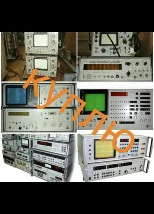 Дорого осциллографы частотомеры генераторы измерители