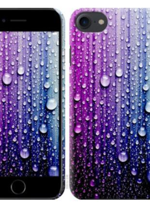 Чехол на iPhone 7 Капли воды