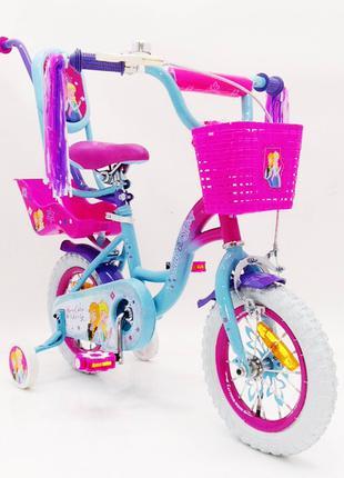 Детский велосипед 14 дюймов Ice Frozen 19 PS 02-14