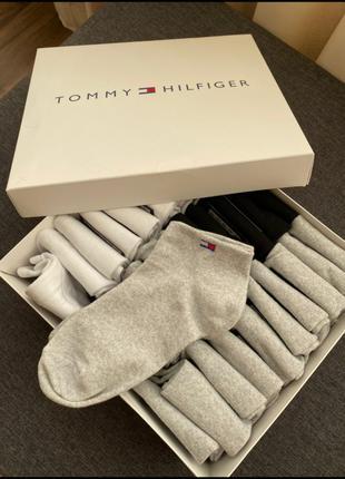 Tommy hilfiger короткие носки мужские , женские ,36-45 размер