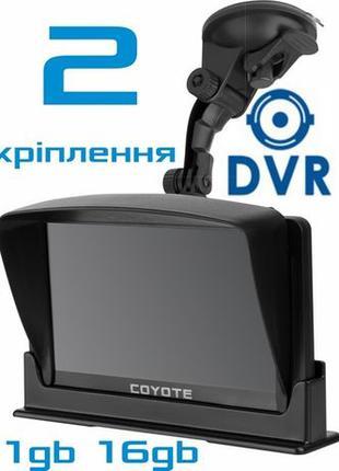 COYOTE 940 DVR Double Hector PRO 1/16 GPS навигатор видеорегистра
