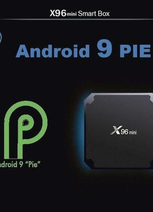 Оригинал X96 MINI 2gb/16gb Android 9 S905w Прошита и Настроена