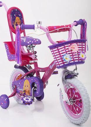 Детский велосипед 14 дюймов Barbie Барби 19 Вв 02-14