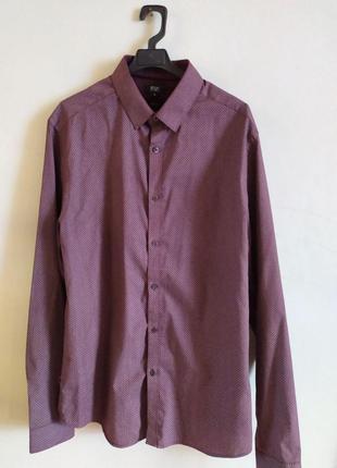 Мужская Рубашка, Елегантная Рубашка, Стиль, F&F, Сорочка