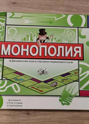 Настольная игра монополия (monopoly) классическая (5216r)
