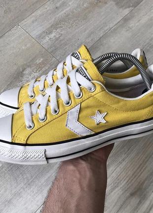 ⚜️ абсолютно новые желтые кеды converse chuck taylor all star ⚜️
