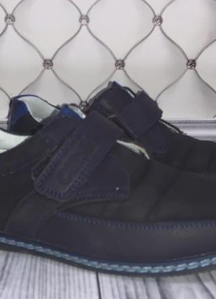 Замшевые туфли мальчику 34 размера