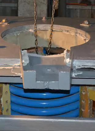Плавильная индукционная печь тиристорный преобразователь ТПЧ ТВЧ