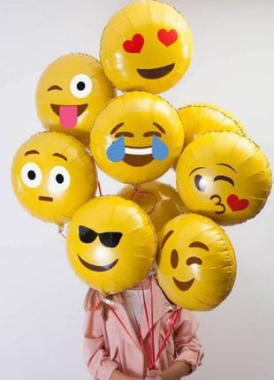 Продам фольгированные шары emoji