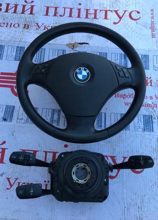Airbag подушка в руль в потолок завесы бмв е90 е91 е92 разборка