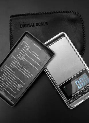 Весы электронные высокоточные (ювелирные) 0.01 г x 100/200/300...