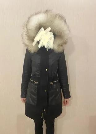 Женский пуховик. Куртка. Длинная куртка. Зимняя куртка