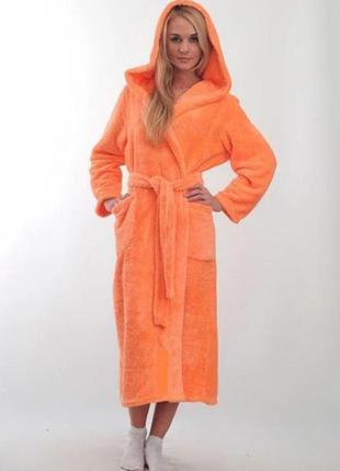 Женский махровый халат, пр-во турция, в наличии размеры и расц...