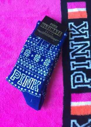 Носочки pink от victoria's secret, оригинал!