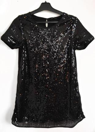 Платье в паетках, блестящее платье