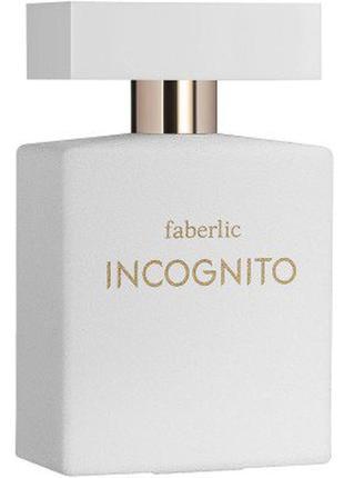 Парфюмерная вода incognito faberlic инкогнито фаберлик