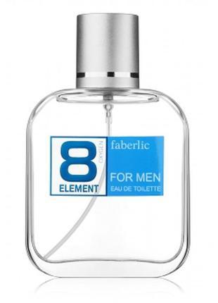Туалетная вода 8 element faberlic 8 элемент фаберлик