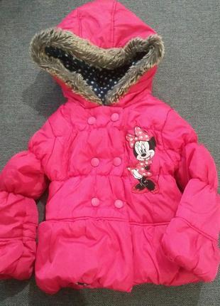 Куртка minnie mouse