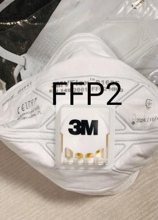 Респиратор 3м 9152е, 9162е, защитная маска FFP2.