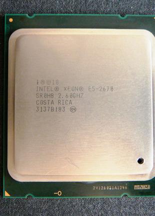 Процессор, ЦП, CPU Intel Xeon E5-2670 (LGA 2011) для чипсетов X79