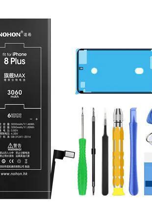 Аккумуляторная батарея NOHON для Iphone 8 Plus 8+ 3060mAh