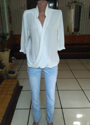 Тонкие стрейчевые джинсы