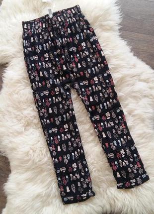 Легкие штаны/брюки lulu castagnette (франция) на 11-12 лет (ра...