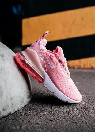 Женские кроссовки nike air max 270 pink 😍
