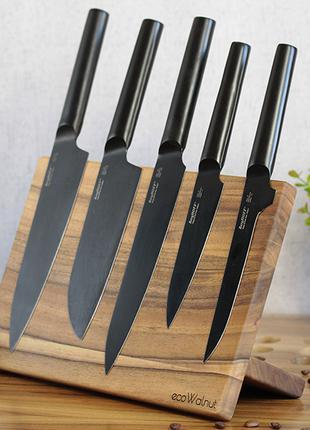 Магнитная доска для ножей кухонная разделочная досточка для еды