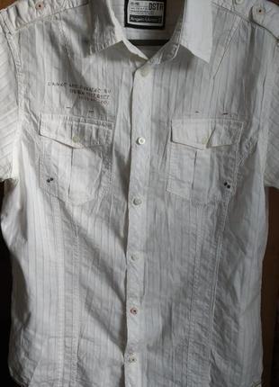 Стильная молодежная рубашка от angelo litrico