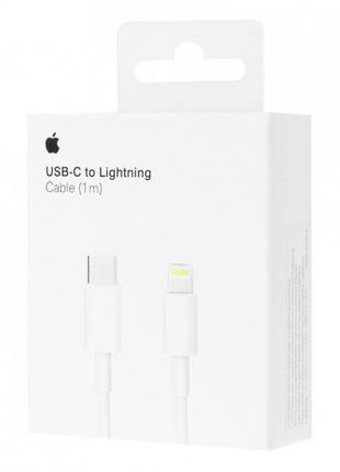 Кабель Apple USB-C to Lightning Cable 1м