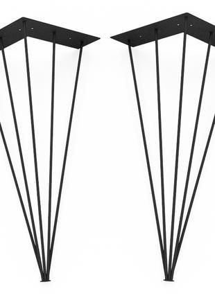 Ножка из металла h-730мм 1143