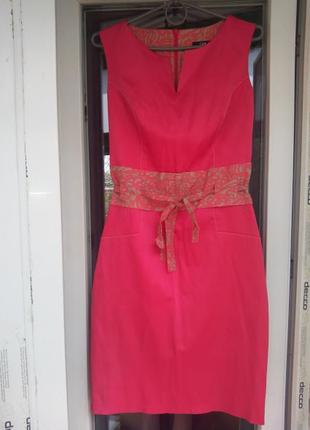 Платье футляр по фигуре без рукавов