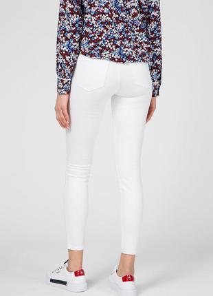 Белые джинсы скини, tally weijil